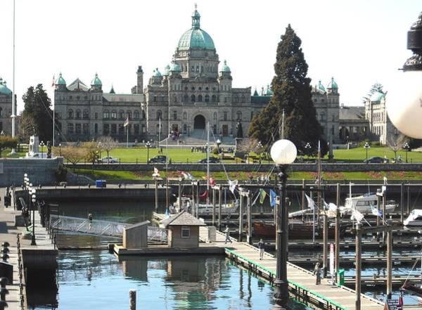 Parliament Inner Habrour Victoria Poster