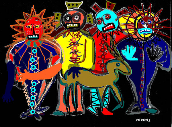 Petroglyph Poster