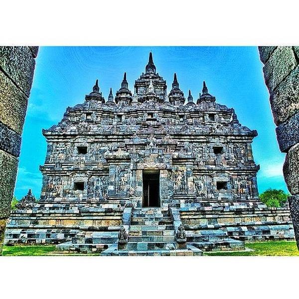 Plaosan Temple Was Built In The Mid 9th Poster