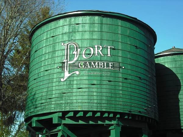 Port Gamble Poster