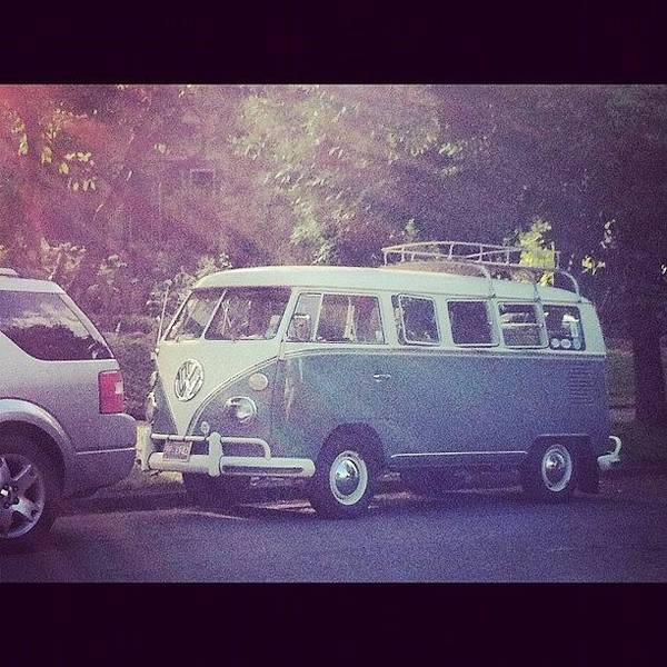 #portland #volkswagen #aircooled #bus Poster