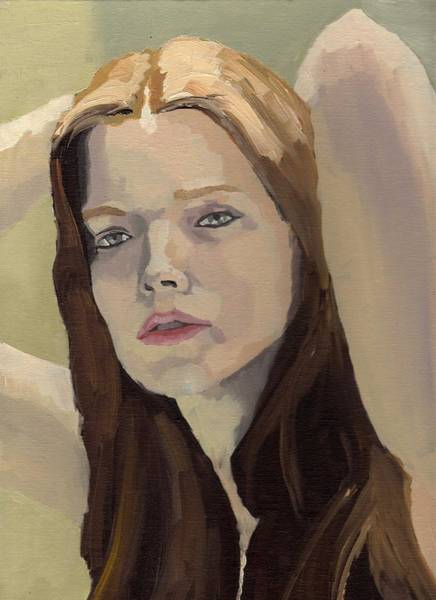 Portrait Of Ashley Poster