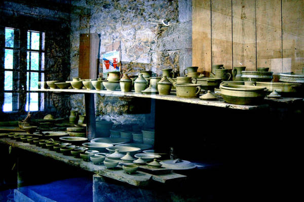 Poster featuring the photograph Pottery Land by HweeYen Ong