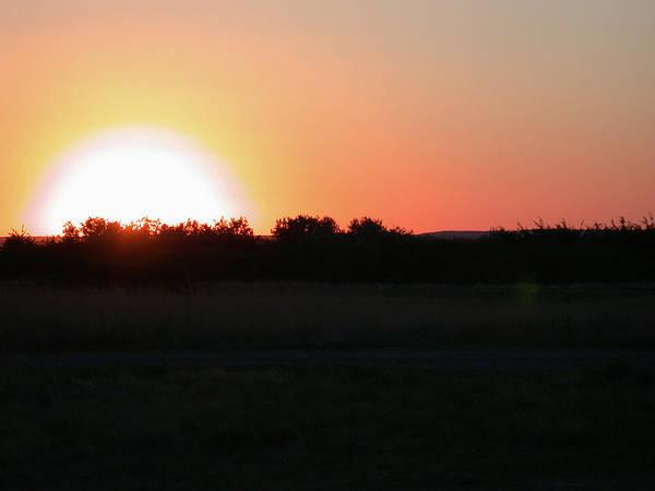 Prairie Sun Poster