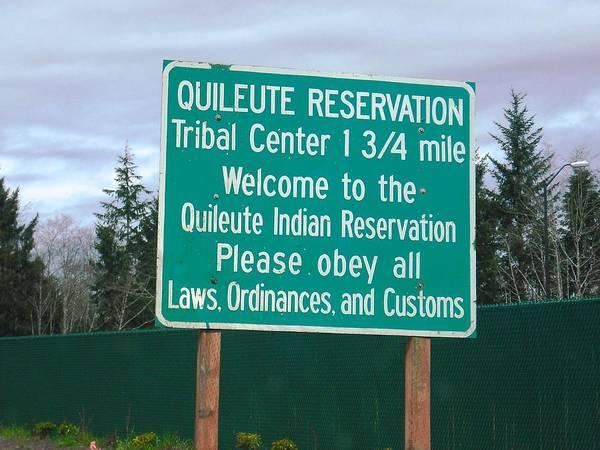 Quileute Reservation La Push Poster