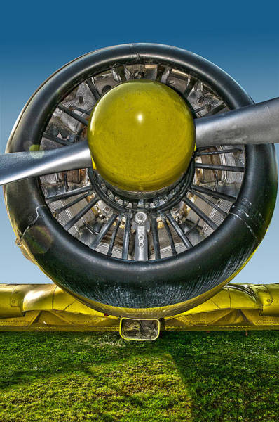 Radial Engine Poster