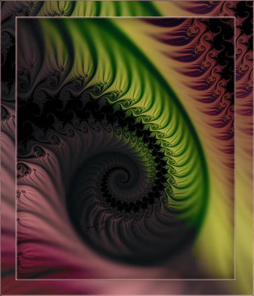 Rainbow Swirl Poster
