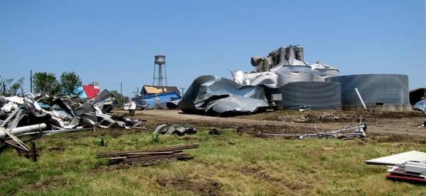 Reading Kansas Tornado Recovery  Poster