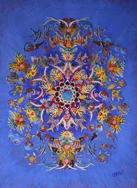 Reef Kaleidoscope Poster
