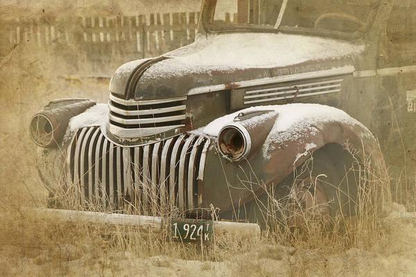 Retired Truck Circa 1924 Poster