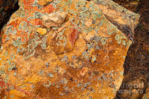 Rock Abstract II Poster