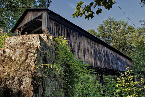 Rock Creek Road Covered Bridge Poster