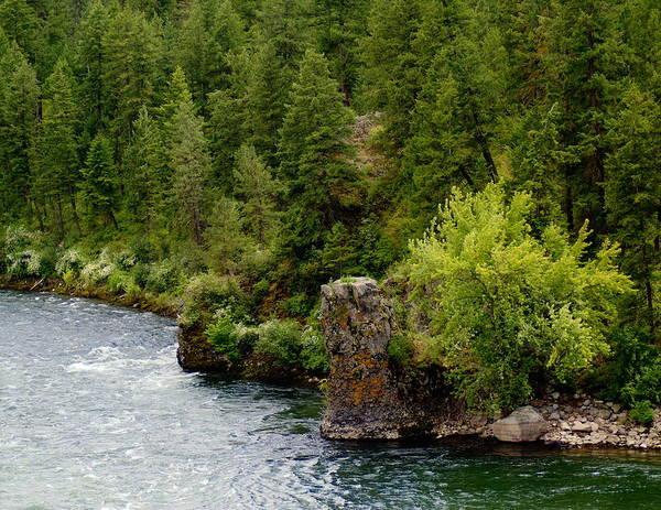 Rockin The Spokane River Poster