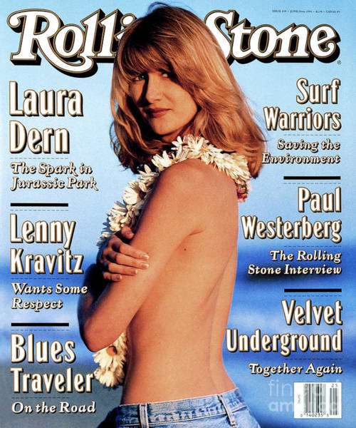 Rolling Stone Cover - Volume #659 - 6/24/1993 - Laura Dern Poster