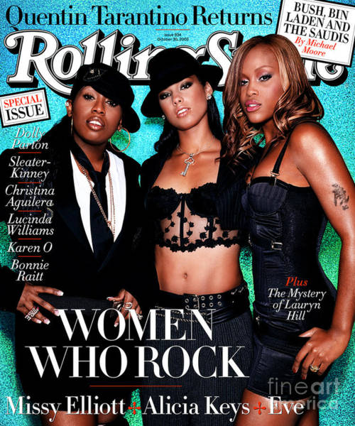 Rolling Stone Cover - Volume #934 - 10/30/2003 - Women In Rock Poster