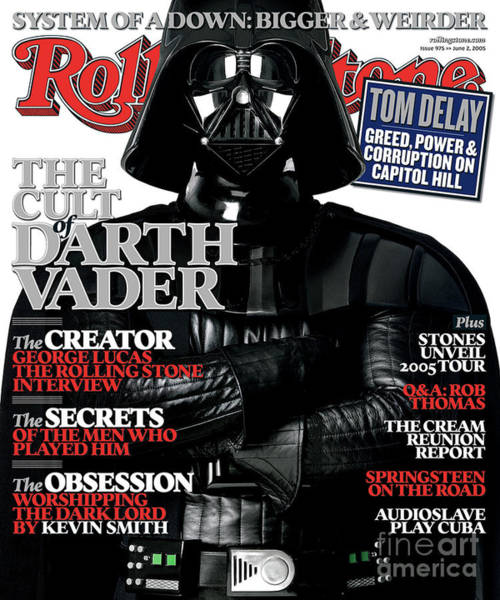 Rolling Stone Cover - Volume #975 - 6/2/2005 - Darth Vader Poster