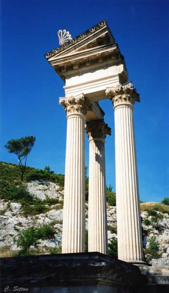 Roman Columns Of Glanum Poster