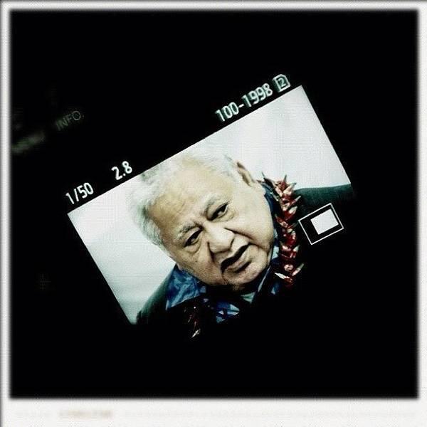 Samoan Prime Minister #fuda #fairfax Poster