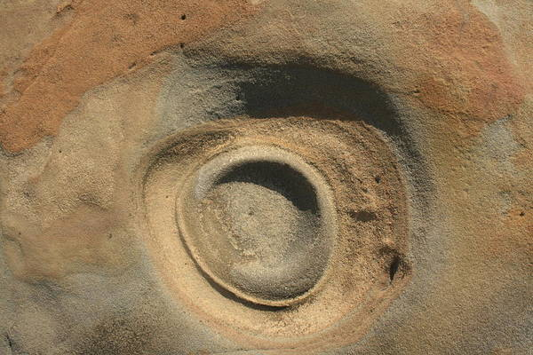 Sand And Rock Swirl Poster