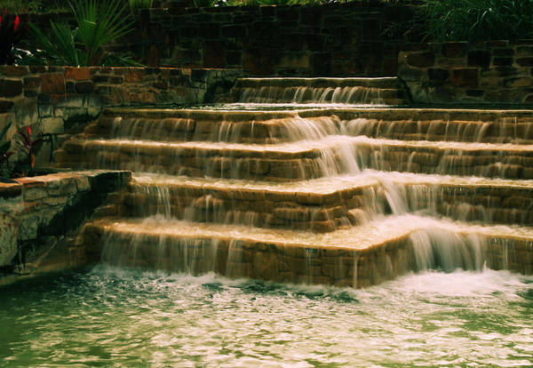 Soft Waterfall Poster