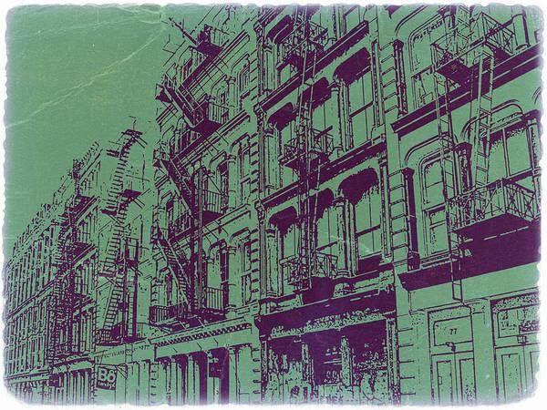 Soho New York Poster