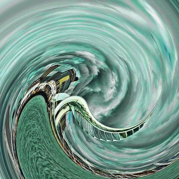 Spinning Spinnaker Poster
