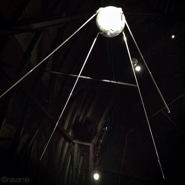 Sputnik 1: Space Age Began On Oct. 4th Poster