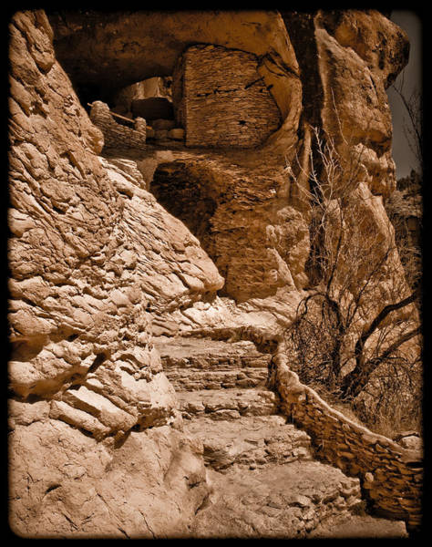 Stone Stairway Poster
