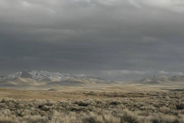 Storm In Dunes Poster