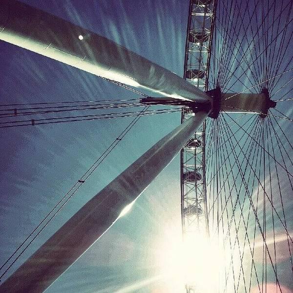 Sunnd Day In London, London Eye Poster