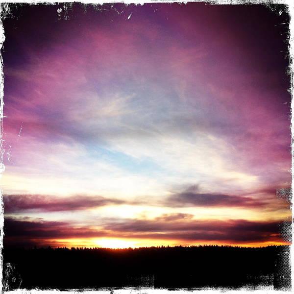 Sunrise On Ridge Poster