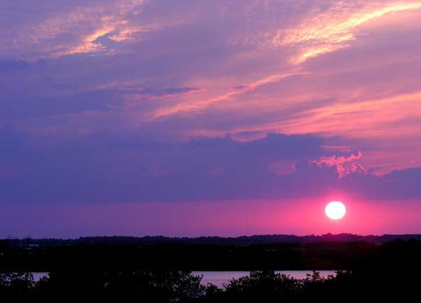 Sunset At Merritt Island Poster