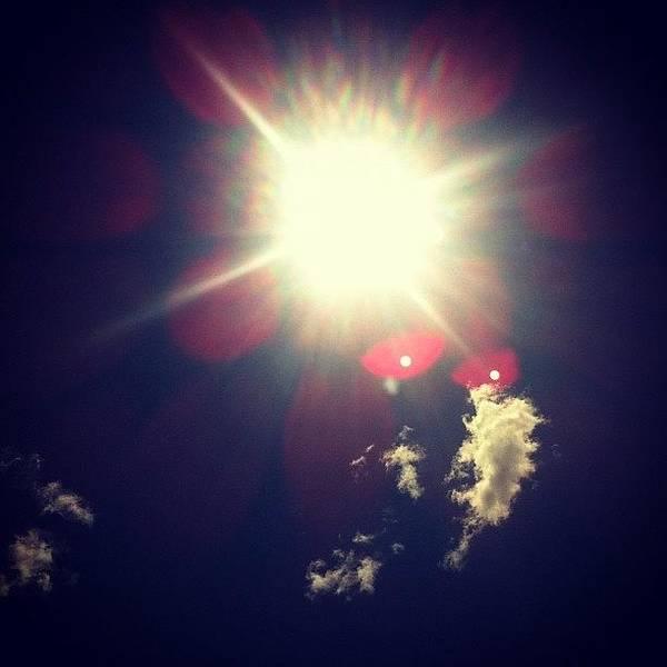 #sunshine #clouds #sky Poster