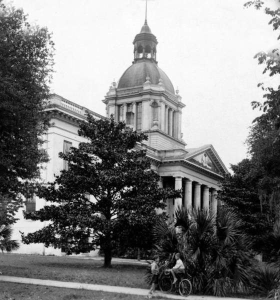 Tallahassee Florida - State Capitol Building - C 1929 Poster