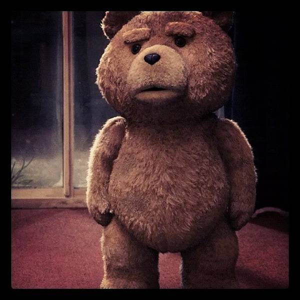 Ted Is Sad, Let's Give Him A Big Poster