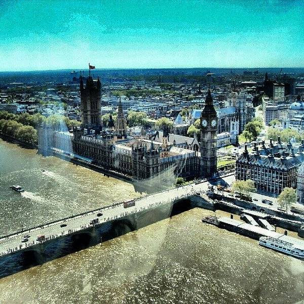 Thames River, View From London Eye | Poster