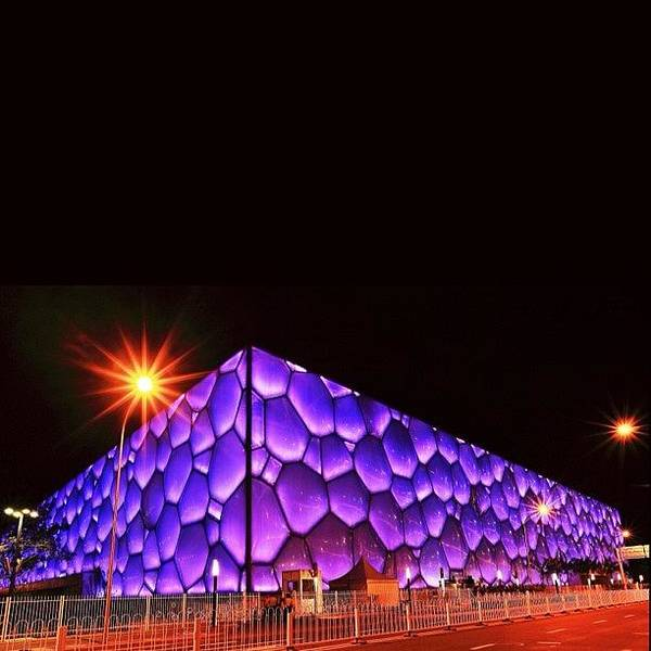 The Beijing Olympics Ice Cube Was Built Poster