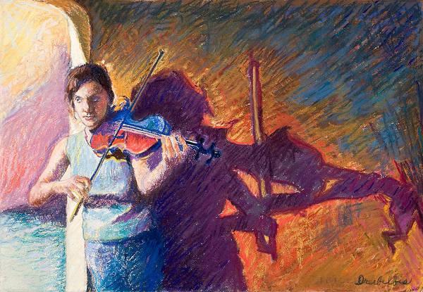 The Fiddler From Julliard Poster