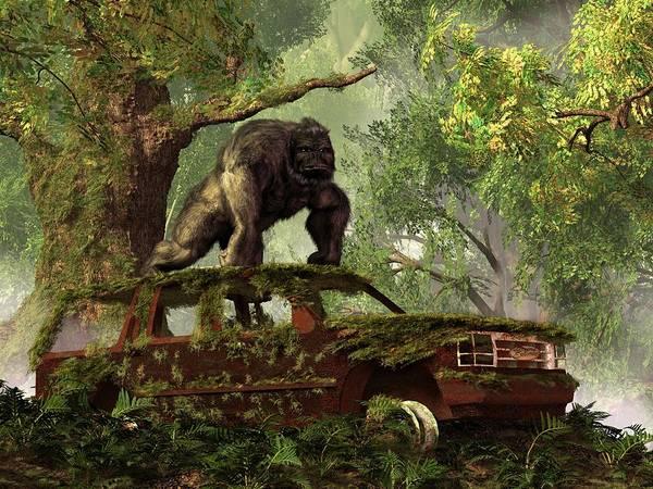 The Gorilla's Suv Poster