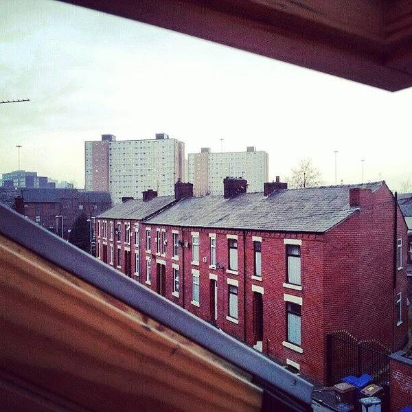 The View From My #house #roof Poster