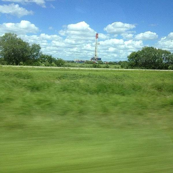 Them Texas Oil Rigs#insta #instapic Poster