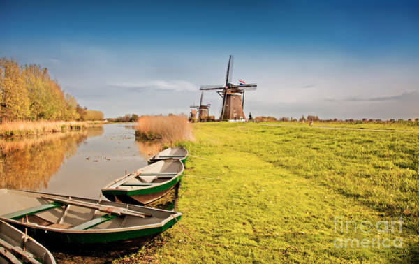 Traditional  Dutch Landscape Poster