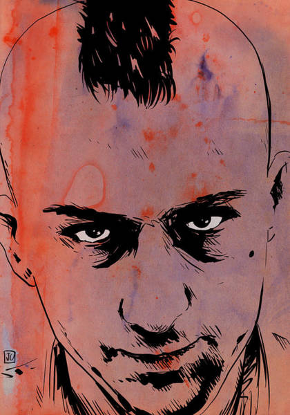 Travis Bickle Taxi Driver Poster