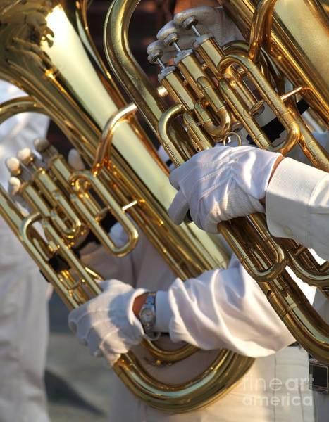 Two Tuba Players Poster