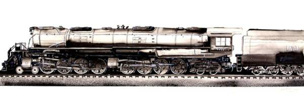 Union Pacific 4-8-8-4 Steam Engine Big Boy 4005 Poster