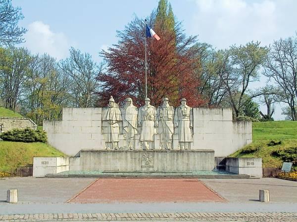 Verdun France World War I Memorial Poster