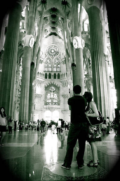 Poster featuring the photograph Vintage Sagrada by HweeYen Ong