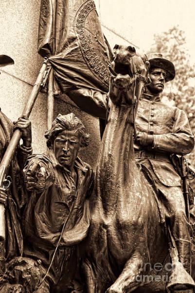 Virginia Monument Gettyburg Poster