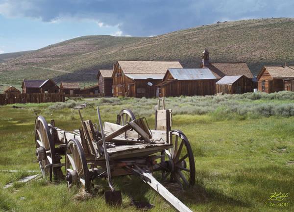 Wagon And Shovel Poster