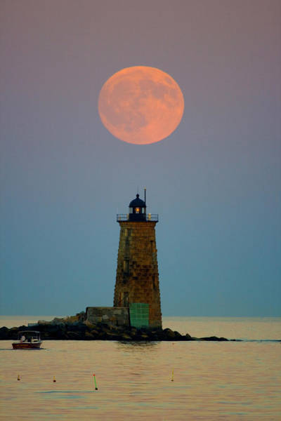 Whaleback Lighthouse Poster